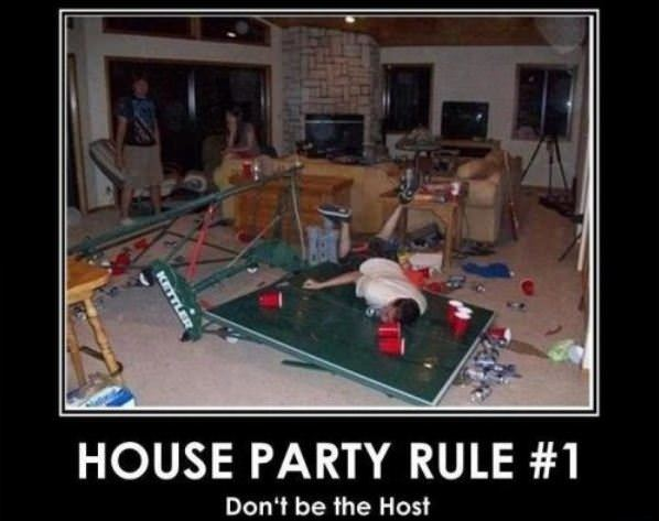 House Party Rule 1