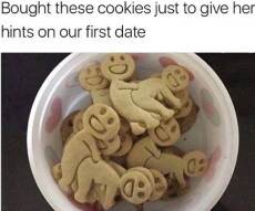 i bought some cookies