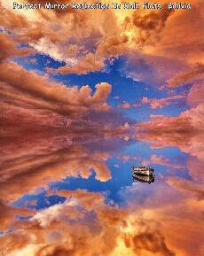 pretty cool reflection